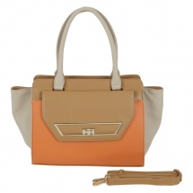 Charlotte Reid Tote Bag with Detachable Straps