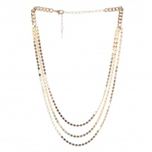 Sasha Disc Chain Necklace