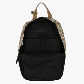 Adore Printed Backpack