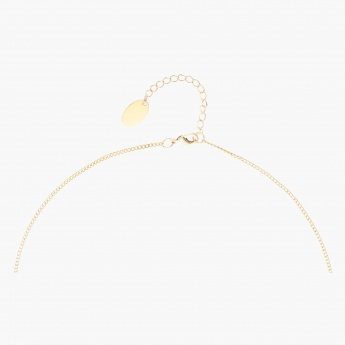 Sasha Looped Studded Pendant Necklace