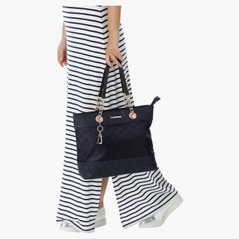 Love Juno Quilted Shopper Bag