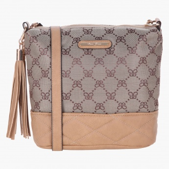 Love Juno Quilted Crossbody Bag