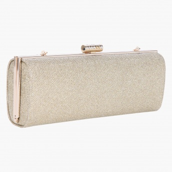 Adore Embellished Box Clutch