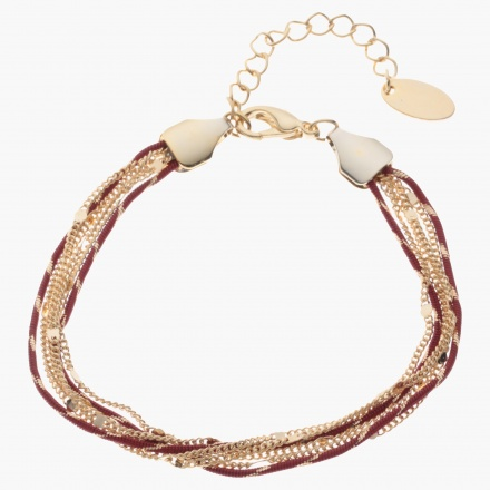 Sasha Multi-chain and Cord Bracelet