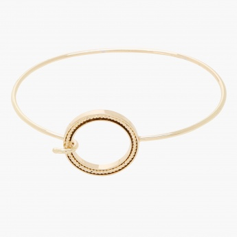 Sasha Textured Bangle