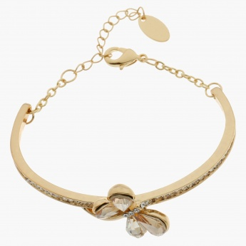 Sasha Embellished Butterfly Bangle