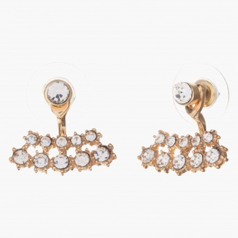 Sasha Crystal-embellished Stud Earrings