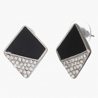 Sasha Diamond-shaped Earrings