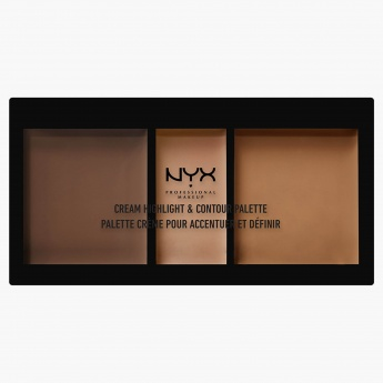NYX Professional Make up Cream Highlight and Contour Palette