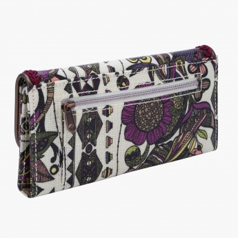Ivory Spirit Printed Wallet