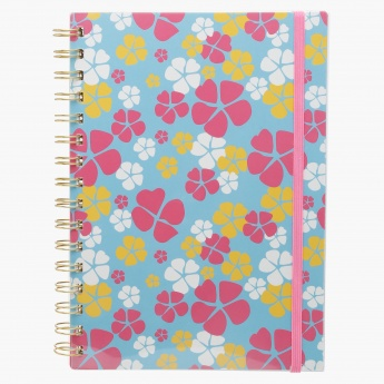 J World Printed Notebook - A5