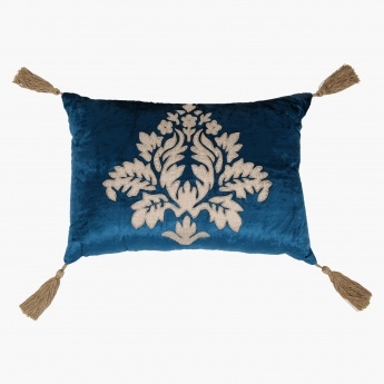 Elite d'Art Embroidered Cushion with Embroidery - 35x50 cms