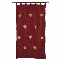 Elite D'Art Tab Top Curtain