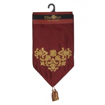 Elite D'Art Embroidered Table Runner